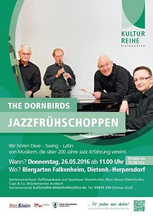 Jazzfrühschoppen mit den Dornbirds