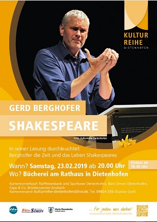 Gerd Berghofer - Shakespeare